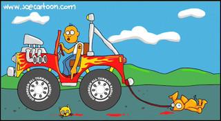 "Joe Cartoon - ""Clip 3 - Where is my Dog?"""