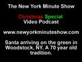 Video - Santa Arriving in Woodstock, NY