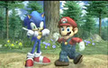 Sonic  in Super Smash Bros. Brawl Trailer (Not Fan-Made)