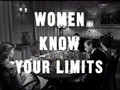 woman know your limits