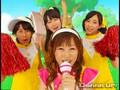 Risa Niigaki, Aika Mitsui, Chisato Okai, and Saki Nakajima - Atena & Robikerottsu - Shouri no BIG WAVE!!! PV (Dohhhup Version)