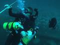 Wreck diving on Tottori Maru