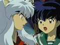 Inuyasha and Kagome Keep Holding On