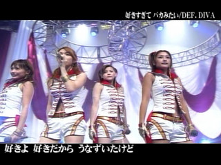 DEF.DIVA -Sukisugite Baka Mitai (live)