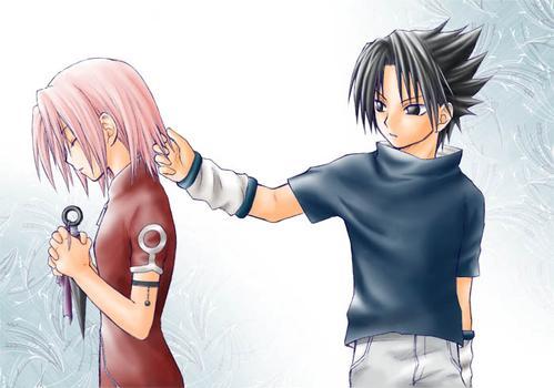 sasuke & sakura - what hurts the most