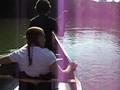 """Going down """"The Hooch"""" in a canoe in Atl"""