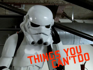 Things you can't do…as a Stormtrooper Ep. 1