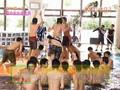 [TV] 20040711 Ya-Ya-yah, NewS, Kis my Fis,.in swimming pool