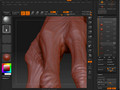 Projecting Detail From one mesh to another (Sub Tool Method)
