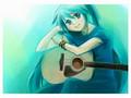 hatsune miku machine meiden guitare version