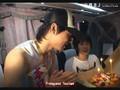 DBSK - Yoochun's B-day on bus