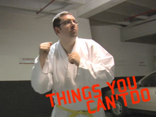 Things you can't do…with a Yellowbelt