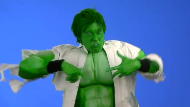 The NEW Incredible Hulk Muscle Suit : BFX