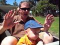 Cole- train ride in Balboa Park