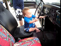 Cole- driving VW Bug