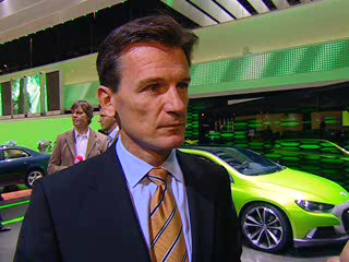 Paris 2006: VW Markenchef Wolfgang Bernhard