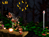 Donkey Kong Country 2 - Ghostly Grove