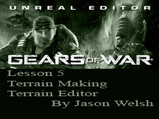 Unreal Engine 3.0 Lesson 5