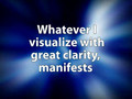 Wealth Secret - Affirmation 1 - Law of Attraction - Success Visualization