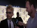 Robert Downey Jr Iron Man with Brad Blanks