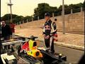 Red Bull F1 on public roads in Brazil
