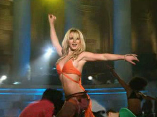 Britney Spears - ABC Special (Live at Gotham Hall) In the zone