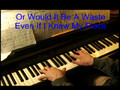 Chasing Pavements - Piano