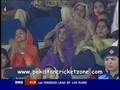 Shabbir Ahmed Gets Giles caught at extra cover by Hasan Raza