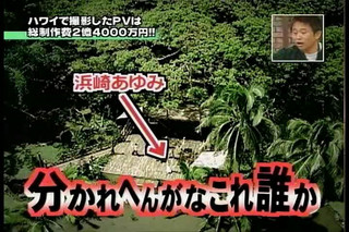 Ayumi Hamasaki on Hey!x3 2005.11.28