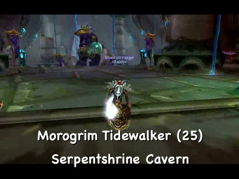 Morogrim Tidewalker - Serpentshrine Cavern, WoW