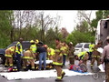 Firefighters form Kentland33 Fire Department on The Battalion-The Series-Trailer