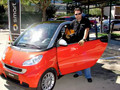Smart car test drive