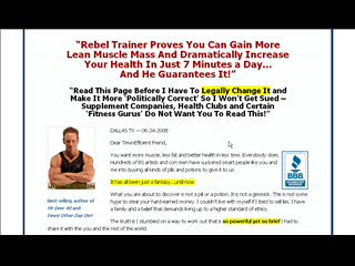 7 Minute Muscle - Start Building Muscles In Just 7 Minutes!