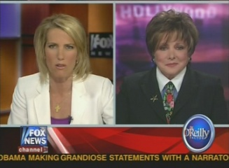 Jeanne Wolf on O'Reilly Factor about McCain's new celeb ad against Obama