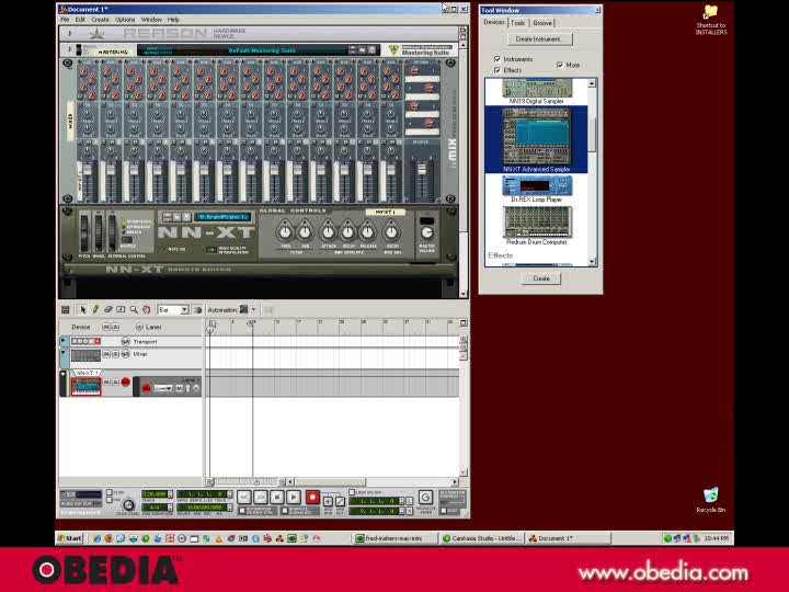 Get Started with Propellerhead Reason