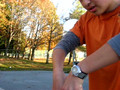 Michael's halloween thumb trick
