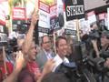FoxxyNews Visits the WGA Writers Strike in Hollywood.