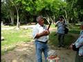 guide at Chichen Itza
