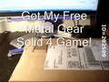 Metal Gearl Solid 4 UNBOXING from REWARDS1