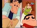 Shin Chan - Dori heeft een eetafspraak
