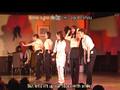 Ojigi 30 degrees on stage
