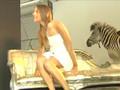 Kira Plastinina Versus A Zebra