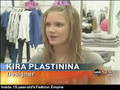 Kira Plastinina on the News!