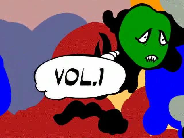 Opio (Souls of Mischief) Vulture's Wisdom Cartoon Interlude1
