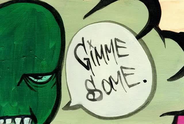 Opio (Souls of Mischief) Vulture's Wisdom Cartoon Interlude4