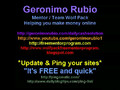 FREE Mentor Program (UpDated 'N' Pinged) Geronimo Rubio