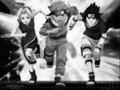 Naruto (black and white)