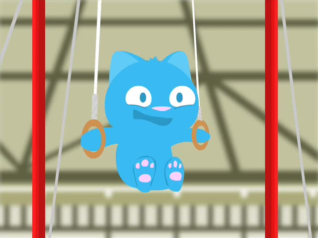 The Cute Games - Kitty Gymnastics