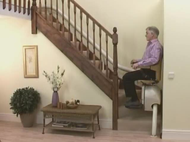 Churchills Stairlifts - Curved Stairlifts