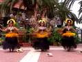 Island polynesian dance